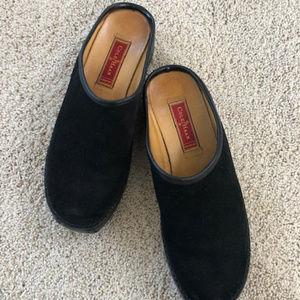 Shoes - Cole Haan Suede Clogs